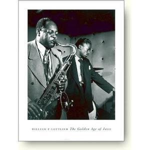 ジャズポスター コールマン・ホーキンスとマイルス デイビス William Gottlieb:Coleman Hawkins and Miles Davis|artposters