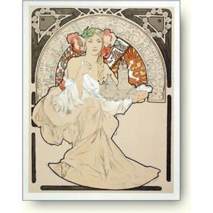 リトグラフ アルフォンス・ミュシャ  Alphonse Mucha: Woman with Cathedral|artposters