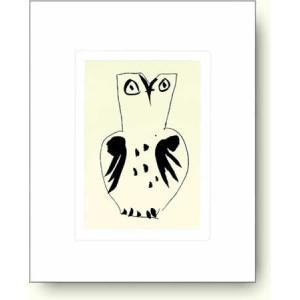 パブロ・ピカソ フクロウ 【アートポスター】 artposters