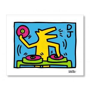 キース・ヘリング Keith Haring: KH07 【アートポスター】|artposters