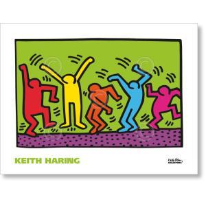 キース・ヘリング Keith Haring: Untitled, 1987 (dance) 【アートポスター】|artposters