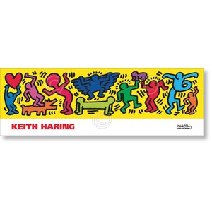 キース・ヘリング Keith Haring: Untitled, 1987 【アートポスター】|artposters