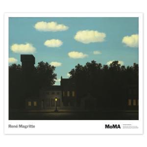 ルネ・マグリット(Rene Magritte) 光の帝国 II, 1950年(The Empire of Light II ) 【アートポスター】|artposters