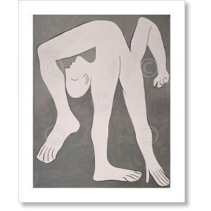 パブロ・ピカソ アクロバット, 1930年 Pablo Picasso: L'acrobate (The Acrobat) 【アートポスター】|artposters