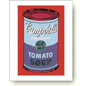 【アートポスター】アンディ ウォーホル キャンベルスープ缶, 青と紫|artposters