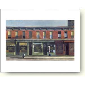エドワード・ホッパー 日曜日の早朝 1930年 【アートポスター】|artposters