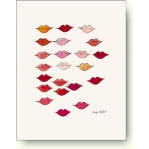 アンディ ウォーホル 唇 リップ 【アートポスター】|artposters