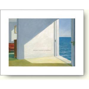 【出荷区分C】エドワード・ホッパー 海辺の部屋 1950年 【アートポスター】|artposters