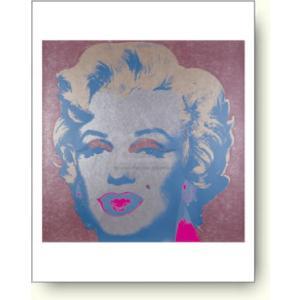 【アートポスター】アンディ ウォーホル マリリンモンロー/シルバー|artposters