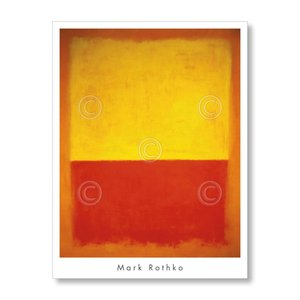 【出荷区分D】マーク・ロスコ Mark Rothko: No. 12, 1954【アートポスター】|artposters