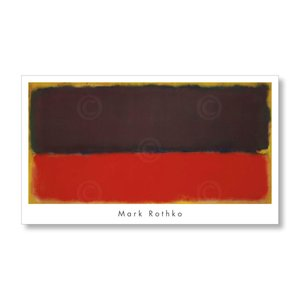 アートポスター マーク・ロスコ Mark Rothko: No. 13, 1951|artposters