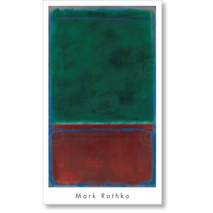 アートポスター マーク・ロスコ Mark Rothko: No. 7 (Green and Maroon), 1953|artposters