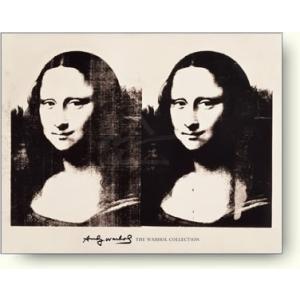 【アートポスター】アンディ・ウォーホル ダブルモナリザ|artposters
