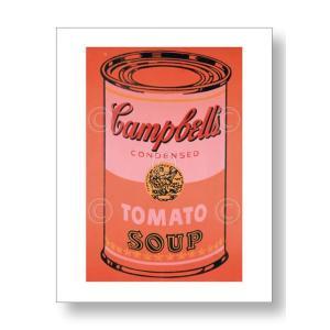 アンディ・ウォーホル:キャンベル・スープ缶 Andy Warhol: Campbell's Soup Can, 1965 (orange) アートポスター artposters