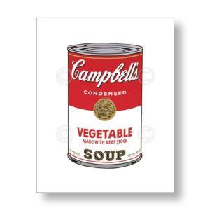 【出荷区分C】アンディ・ウォーホル:キャンベル・スープ缶 Andy Warhol: Campbell's Soup I: Vegetable, 1968 アートポスター|artposters