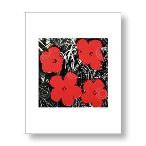 アンディ・ウォーホル:フラワー Andy Warhol: Flowers (Red), 1964 アートポスター artposters