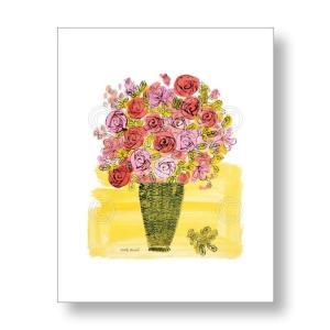 アンディ・ウォーホル Andy Warhol: (Stamped) Basket of Flowers, 1958 アートポスター|artposters