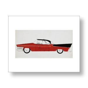 アンディ・ウォーホル: Andy Warhol: Car, c.1959 (red) アートポスター|artposters