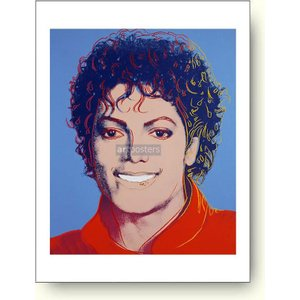 【絶版希少】アンディ・ウォーホル:マイケル・ジャクソン Andy Warhol: Michael Jackson, 1984 アートポスター artposters