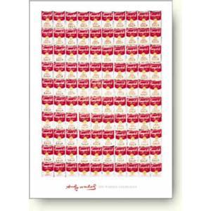 アンディ ウォーホル 100個のキャンベル・スープ缶 【アートポスター】 artposters