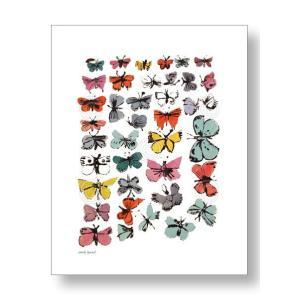 アンディ・ウォーホル:バタフライ Andy Warhol: Butterflies, 1955 (many/varied colors) アートポスター artposters