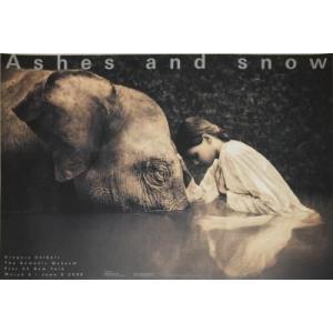 グレゴリー・コルベール(Gregory Colbert) Girl with Elephant 【アートポスター】|artposters