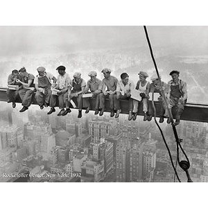 フォトポスター ロックフェラーセンター Rockefeller Center, 1932|artposters