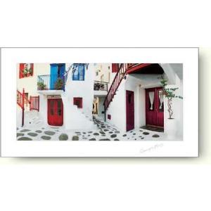 ジョルジュ・メイス カラフルなドア 【フォトポスター】|artposters