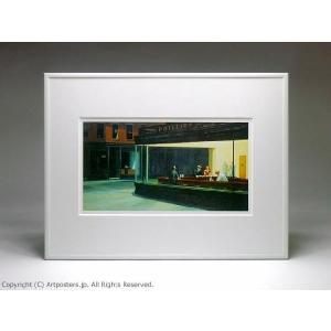 エドワード・ホッパー ナイトホークス 額付ポスター Edward Hopper:Nighthawks|artposters|02