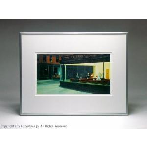 エドワード・ホッパー ナイトホークス 額付ポスター Edward Hopper:Nighthawks|artposters|03
