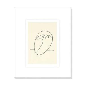 パブロ・ピカソ フクロウ Pablo Picasso: Le hibou アートポスター|artposters