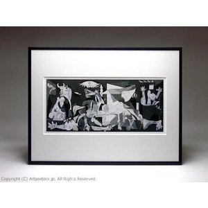 パブロ・ピカソ ゲルニカ 額付ポスター Pablo Picasso:Guernica, 1937|artposters