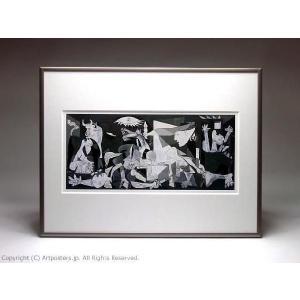 パブロ・ピカソ ゲルニカ 額付ポスター Pablo Picasso:Guernica, 1937|artposters|05
