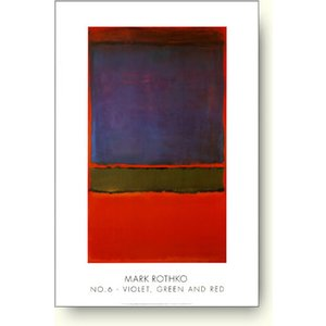 アートポスター マーク・ロスコ Mark Rothko: No. 6 (Violet, Green and Red), 1951|artposters