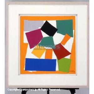 アンリ・マティス (Henri Matisse) エスカルゴ 【特価額装品】|artposters