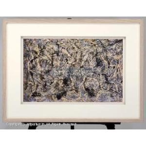 ジャクソン・ポロック (Jackson Pollock) ナンバー28 【特価額装品】|artposters