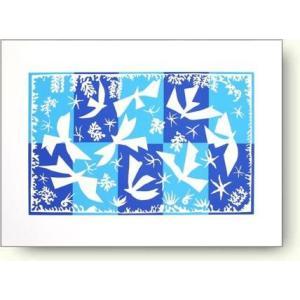 【出荷区分D】アンリ・マティス ポリネシアの空 Polynesie La Ciel 絶版品ラスト1枚【シルクスクリーン】|artposters