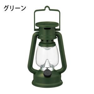 LEDクラシックランタンライト グリーン