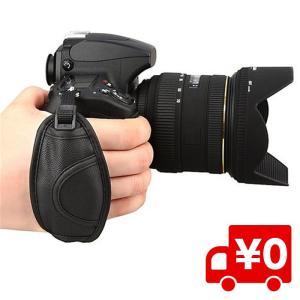 一眼レフカメラ用ハンドストラップ グリップストラップ カメラグリップ ベルト手首を完全固定|arts-wig