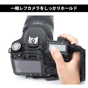 一眼レフカメラ用ハンドストラップ グリップストラップ カメラグリップ ベルト手首を完全固定|arts-wig|02