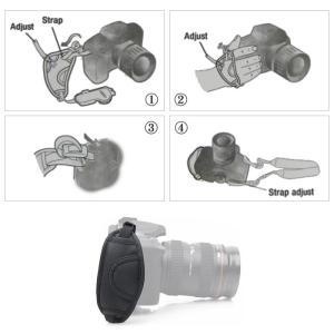 一眼レフカメラ用ハンドストラップ グリップストラップ カメラグリップ ベルト手首を完全固定|arts-wig|03