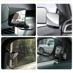 ブラインドスポットミラー サイドミラー 補助ミラー 車用ミラー ルームミラー 死角を減らし後方視界も改善 事故防止 車用品 車外用品 arts-wig 02