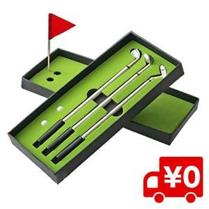 コンペ 用品 記念品 ゴルフクラブ ボールペンセット ゴルフコンペ 景品 賞品 文房具 おもしろ グッズ ゴルフ好き 父の日 プレゼント|arts-wig