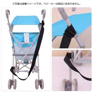 調整可能 軽量 簡易型 ベビーカー 持ち運びス トラップ ベルト 肩ベルト キャリーベルト ベビー用品|arts-wig|03