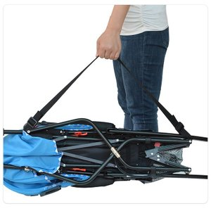 調整可能 軽量 簡易型 ベビーカー 持ち運びス トラップ ベルト 肩ベルト キャリーベルト ベビー用品|arts-wig|04