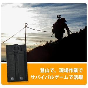スマートフォン 収納ポーチ 携帯ポーチ ウェスト ベルト バッグ スマホ ポーチ サイクリング ハイキング 旅行 山登り arts-wig 02
