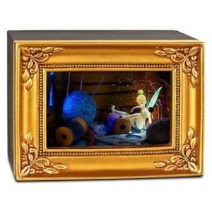 ディズニーOlszewski [オルショウスキー]ギャラリーオブライト『ティンカーベル糸車』  置物 《インテリアにおすすめ》|artsalonwasabi