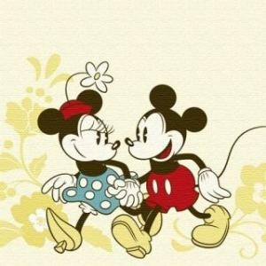 Art Deli ディズニーアートデリ「ミッキー&ミニー」 壁掛け 《インテリア・プレゼントにおすすめ》|artsalonwasabi