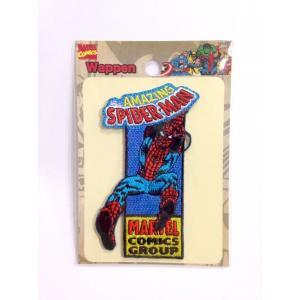 【Marvel comics/マーベルコミックス】刺繍ワッペン/ステッカー スパイダーマン|artsalonwasabi
