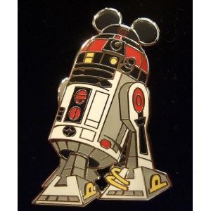 ディズニーコラボ スターツアーズピンバッチ/バッジ「R2-MK」USAディズニーワールド限定/STAR WARS/スターウォーズ|artsalonwasabi